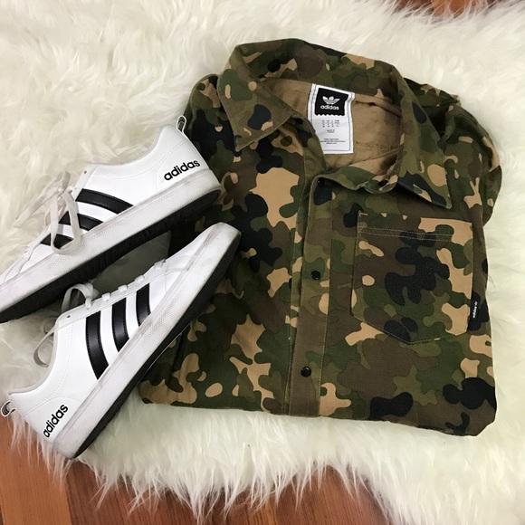 ??SALE?? Men's Adidas Originals Flex Camo Shirt